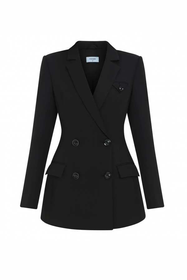 HELVIS DOUBLE-BREASTED SUIT JACKET