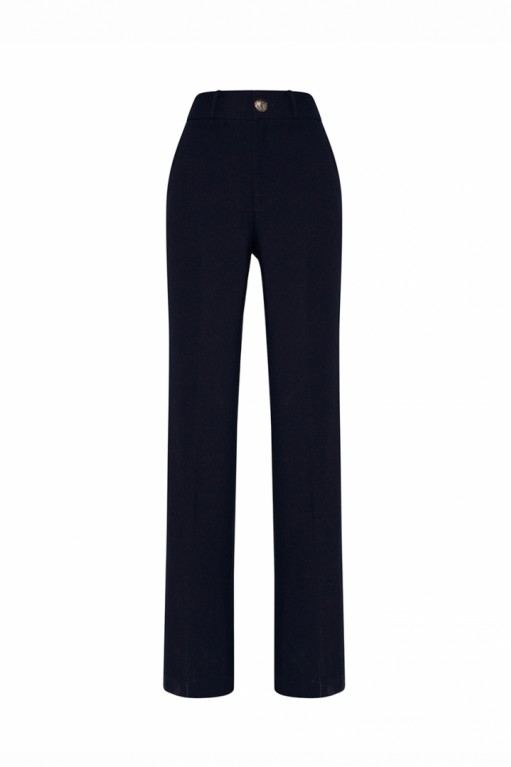 HIGH-RISE PANTS WITH SPLITS