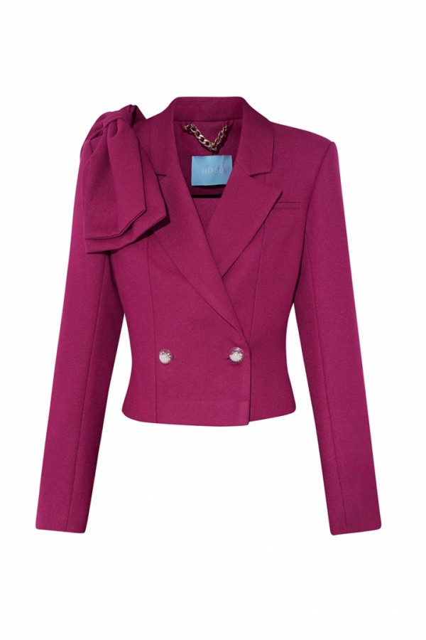 DENNY BOW SUIT JACKET