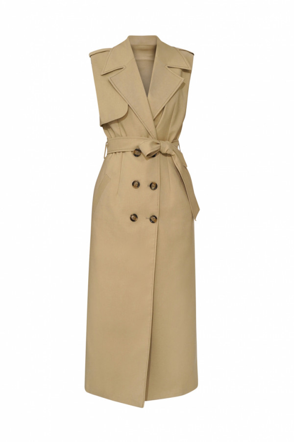 COCOA TRENCH DRESS